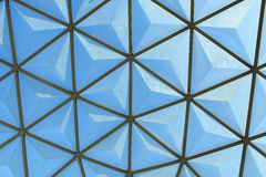 Dome for tropical plants Royalty Free Stock Photos