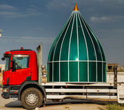 Dome on truck Royalty Free Stock Photos