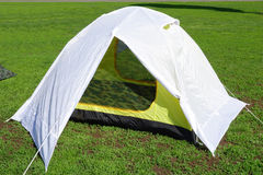 Dome two person tent Stock Photo