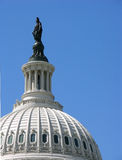 Dome of United States Capitol Royalty Free Stock Photos