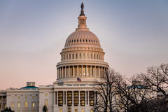 Dome of United States Capitol Building - Washington, DC, USA Royalty Free Stock Image