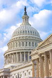 The Dome of US Capitol building Stock Image