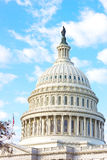 The dome of US Capitol building in Washington DC. Stock Photos