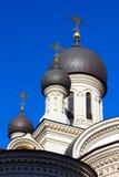 Dome Valaam monastery Stock Image