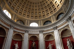 Dome in the Vatican Museums in the Vatican City in Rome Italy Royalty Free Stock Photo