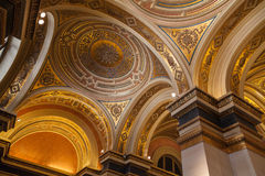 Dome in the Wiener Musikverein. Stock Photos
