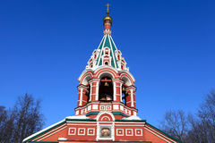Dome of Znamenskaya Church Royalty Free Stock Photo