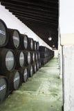 Domecq Antique Wine Cellar Stock Photos