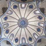 Domed ceiling of Little Hagia Sophia Royalty Free Stock Photography