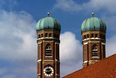 Domed church towers Royalty Free Stock Images
