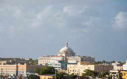 Domed Government Building in San Juan Royalty Free Stock Images