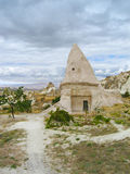 Domed house in Cappadocia Stock Photo