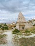 Domed house in Cappadocia Stock Photo