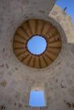 Domed Kamienna struktura z Otwartym dachem obraz royalty free