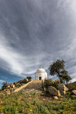 Domed mausoleum at Palasca in Balagne region of Corsica Stock Photo