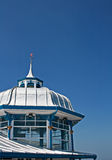 Domed roof on the end of Llandudno pier Stock Photos