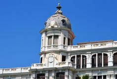 A Domed Roof - Unusual Spanish Arcitecture Stock Photography