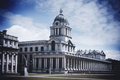 Domed roof Royal Naval College Royalty Free Stock Photo