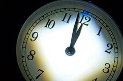 Domedagklocka, två minuter Till Midnight Royaltyfri Bild