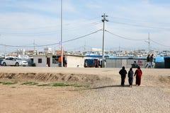 Domeez obóz uchodźców Zdjęcia Stock