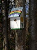 domek dla ptaków zdjęcie royalty free