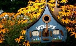 domek dla ptaków z podbitym okiem susans Zdjęcia Stock