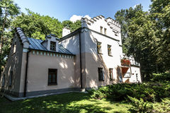 Domek Gotycki no spa resort de Naleczow Imagens de Stock