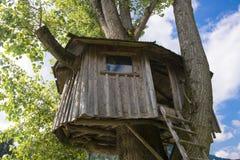 Domek na drzewie Obraz Stock