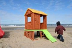 domek na plaży Zdjęcia Stock