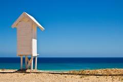 domek na plaży Obrazy Royalty Free