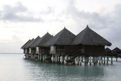 domek nad wodą Zdjęcia Royalty Free