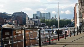 Domenica Bristol Harbour View stock footage