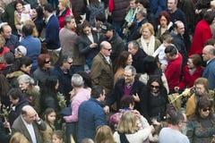 Domenica delle Palme in Galizia (Spagna) Fotografie Stock Libere da Diritti
