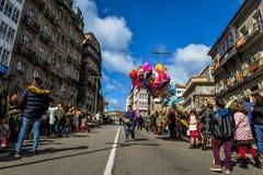 Domenica delle Palme Vigo - in Galizia, Spagna Fotografie Stock