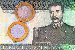 Domenican Money Royalty Free Stock Photos
