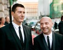 Domenico Dolce e Stefano Gabbana Foto de Stock