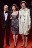 Domenico Dolce, Scarlett Johansson, Letizia Moratti nehmen an der extremen Schönheit in Vogue-Partei teil stockbild