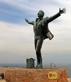 Domenico Modugno Statue Royalty Free Stock Images