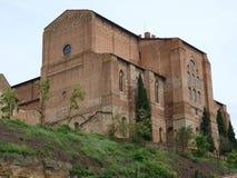 βασιλική Domenico SAN Σιένα Στοκ Εικόνες