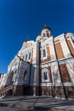 Domes of Alexander Nevsky Cathedral in Tallinn Royalty Free Stock Photography