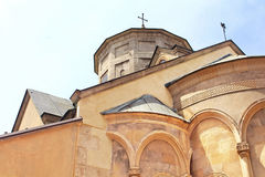 Domes of Armenian Cathedral in Lviv, Ukraine Stock Photography