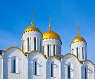 Domes of  Assumption cathedral Stock Photos