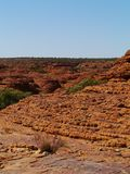 Domes of the Australian Kings Canyon Royalty Free Stock Photography