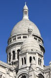 Domes of the Basilica of the Sacre Coeur Stock Photography