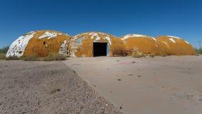 The domes in Casa Grande Arizona Stock Photo