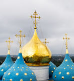 Domes of the Cathedral of the Assumption of Blessed Virgin Mary Royalty Free Stock Photo