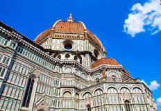 Domes of Cathedral Santa Maria del Fiore, Florence, Italy Royalty Free Stock Photography