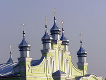 Domes of church. On the sky Stock Photo