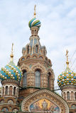 Domes of church royalty free stock photography
