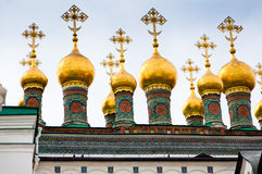 Domes of The Church Royalty Free Stock Photo